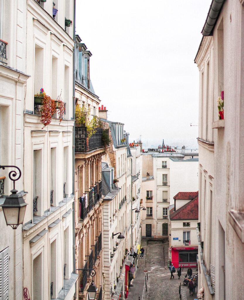 Photo d'une rue de Paris