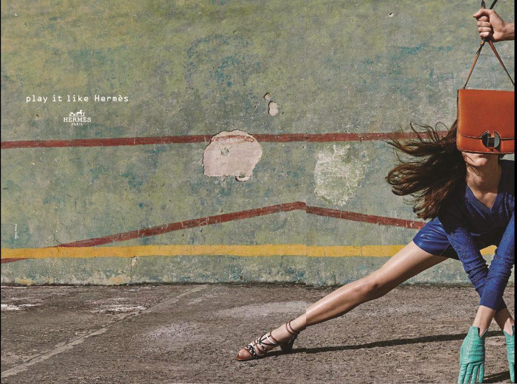 Campagne publicitaire Hermès - Version française - Printemps Été 2018 - Spring Summer 18 - Copywriting - Conception-rédaction - English transcreation